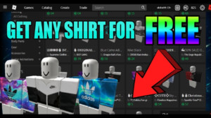 How To Get Any Shirt For Free On Roblox 2020 Copying