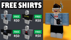 How To Get Best SHIRTS On Roblox For FREE FREE CLOTHING