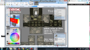 How To Make A Military Uniform ROBLOX PAINT NET YouTube