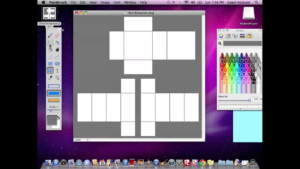 How To Make A Transparent Shirt Template On ROBLOX MAC