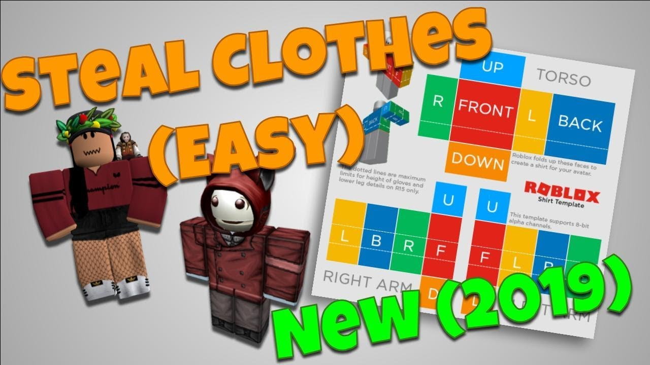 How To Steal Clothing Roblox New 2018 Copy Clothes Easy