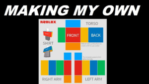 Making My Own Roblox Shirt Template 2017 YouTube