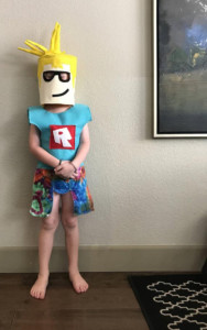 Roblox Body Costume For Kids Fits Ages 4 And Up Custom Outfit