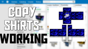 ROBLOX HOW TO COPY SHIRTS ON THE CATALOG 100 WORKING