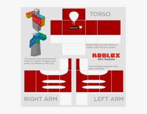 Roblox Template Png Roblox Shirt Template 2018 Free