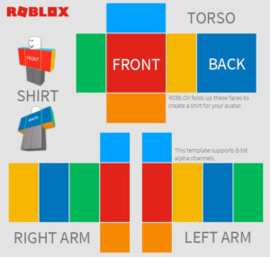 The Best Way To Make A Shirt In ROBLOX WikiHow