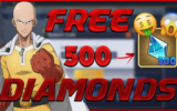 One Punch Man Destiny Codes October 2020