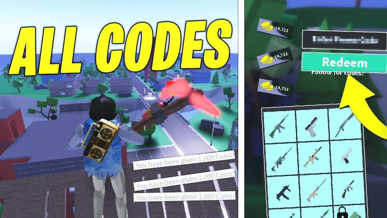 All New Codes In Strucid! (Roblox)