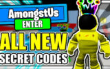 All *new* Secret Op Upadte Codes! 🎩amongst Us Roblox🎩
