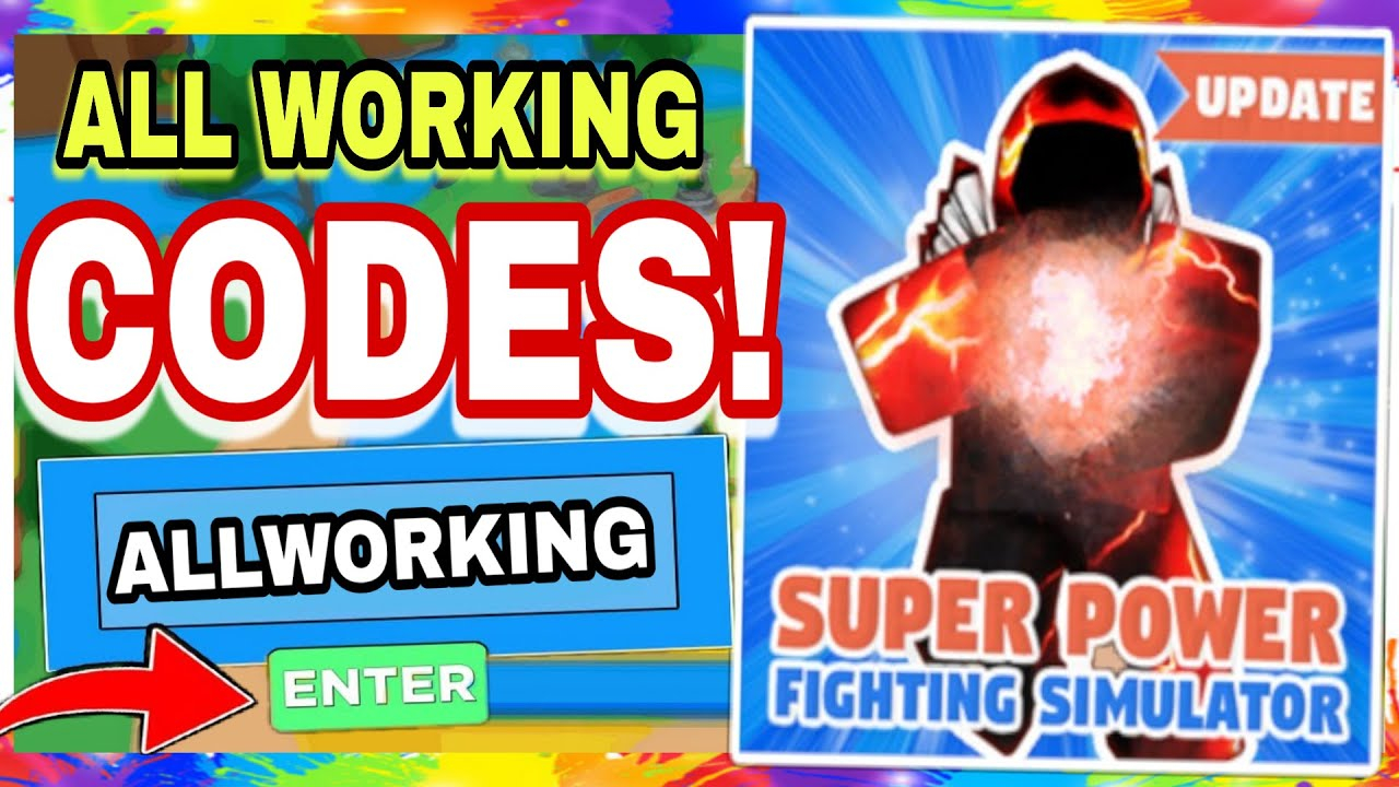 *all New* Working Super Power Fighting Simulator Codes [Roblox]