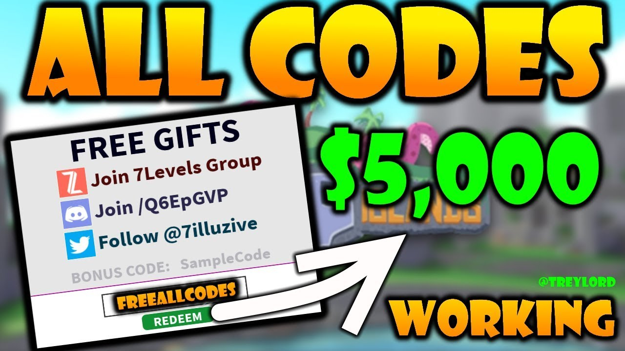 All Working Codes In [Ufo] Cursed Islands 2021 [Roblox] | 7 Codes