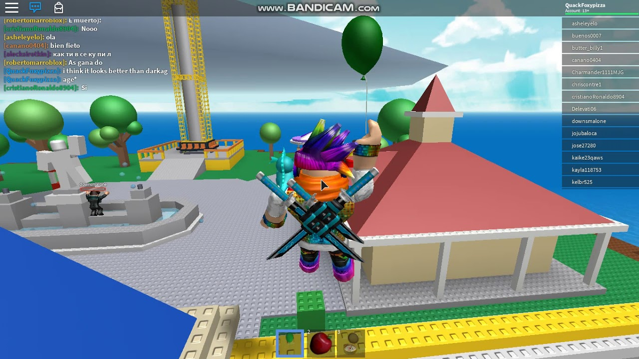 Natural Disaster Survival + My New Sword Pack Code In Roblox