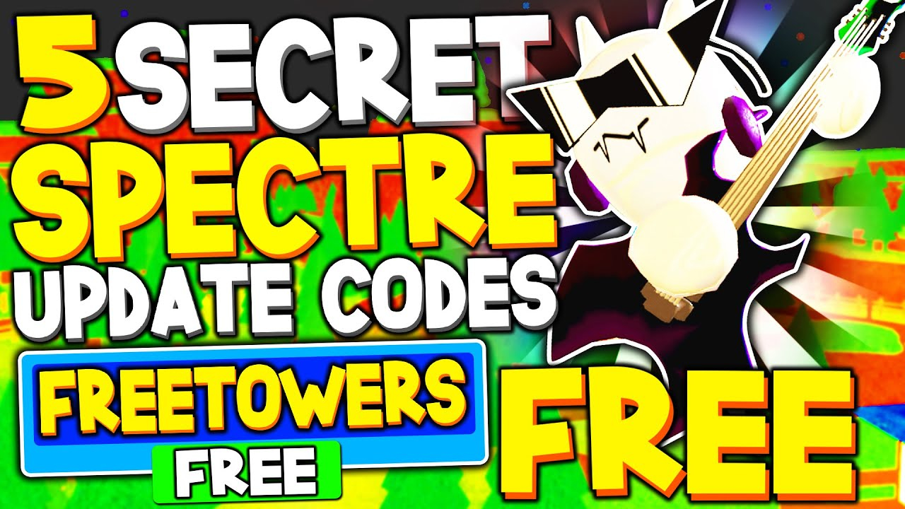 New *5* *free Spectre Skin* Update Codes In Tower Heroes! (Roblox)