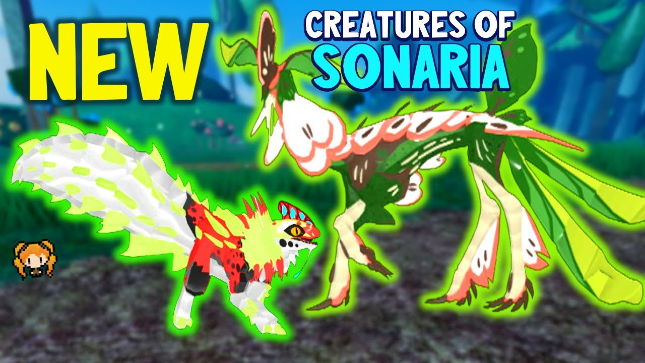 Preview New Creatures Available! Roblox Creatures Of Sonaria