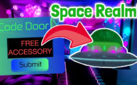 Secret Code For Free Accessory! Space Realm! Royale High Update